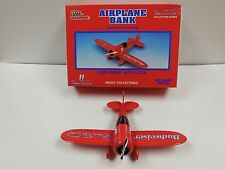 Racing Champions, Bill Elliott,#11 Budweiser,1:32 Scale Vega Airplane Coin Bank