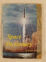NASA space MOON vintage ROCKETS space Dictionary Isaac Asimov vintage history