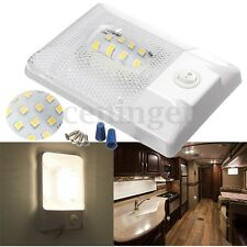 12V 24 LED RV Interior Ceiling Light Lamp Waterproof Boat Camper Trailer Single