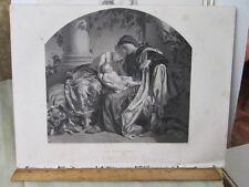 Vintage Print,THE FIRST BORA,Art Jounal 1855