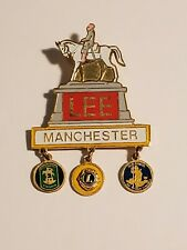 1970s Manchester Virginia Robert E Lee Confederate General Lions Club Pin