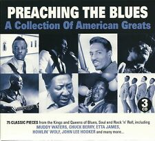PREACHING THE BLUES 3 CD BOX SET - A COLLECTION OF AMERICAN GREATS