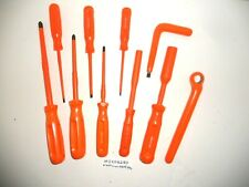 Ms406280) 10 Piece Assorted Electricians Hand Tools Insulated Upto 1000 Volts
