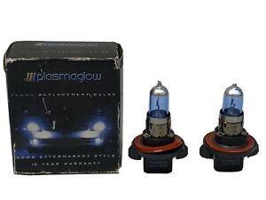 Plasmaglow Ultra Xenon Headlight Replacement Bulb H13 Blue High