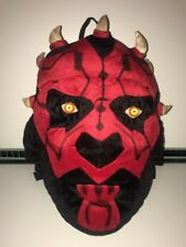"Official Star Wars - Darth Maul Backpack Bag Rucksack Large 16"" Soft Plush VGC"