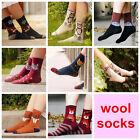 NEW 3 Pairs Women Christmas Animal Fashion Dress Socks winter rabbit wool socks