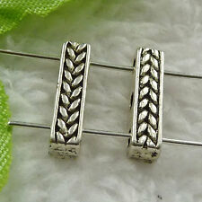 Free Ship 140 pieces tibet silver nice spacer 15x4mm #1393