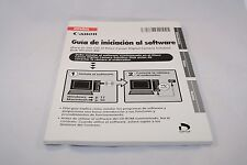 Canon Software Starter Guide (SP) Espanol Guia de iniciacion Al Software Ver 26