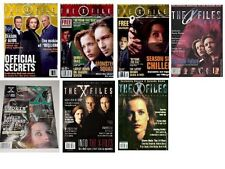 X-files lot 7 magazines officiels The X-Files lot of 7 official magazines