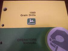 John Deere Tractor Operator'S Manual1560 Grain Drills Issue F8