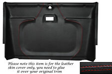 RED STITCH FRONT ROOF LINING HEADLINING COVER FITS LAND ROVER DEFENDER 90 110