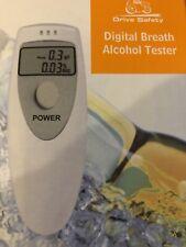 Professional Digital Breath Alcohol Tester Breathalyzer with Lcd Display Self