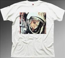 Yuri Gagarin spaceman Cosmonaut Astronaut USSR russian cotton t-shirt 01365