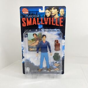 Smallville Clark Kent Action Figure WB Poseable DC Direct Collector's Card Rare