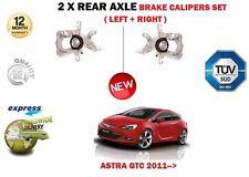para Opel ASTRA GTC 2011- > NUEVO 2x trasero Izquierdo + Derecho PINZAS DE FRENO