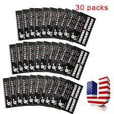 USA!!30 Packs Dental Orthodontic Bracket Braces Mini Roth 022 Slot 3hooks
