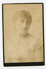 Vintage Cabinet Card Esther Chevalier Opera Singer opera Comique