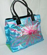 Kate Landry Multi Color Floral Print Polyester Purse Shoulder Bag HandBag Tote