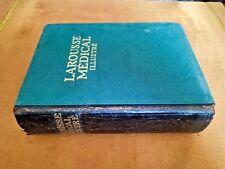 1924 vintage antique encyclopedia Medicine in french larousse medical illustré