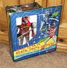 """STELLAR 1984 Bandai Star Searchers Namrood 6"""" Die-Cast Robot MINT Unused w/ Box!"""