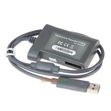 Hard Drive HDD Data Transfer USB Cable Cord Lead Kit for Microsoft Xbox 360