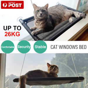 Pet Cat Window Hammock Perch Bed Hold Up To 60lbs Mounted Durable Seat AU