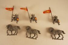 OOP 1992 Battle Masters IMPERIAL LORD KNIGHTS Empire Reiksguard Lot of 3 Plastic