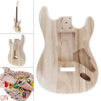 Polished Barrel Maple Guitar Body Template DIY for Fender ST Electric Guitar