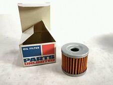 Parts Unlimited Oil Filter Suzuki DR100 DR125 01 0018