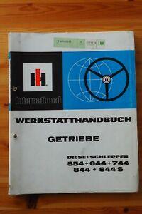 ihc Werkstatthandbuch Getriebe * Dieselschlepper * 554 + 644 + 744 + 844 + 844 S