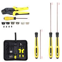 Durable Wire Crimper Tools Kit Wire Crimper Plier Screwdriver+End Terminals Set