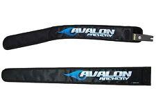 Nouveau noir avalon tir à l'arc récurve bow limb protection manches couvre sac paire