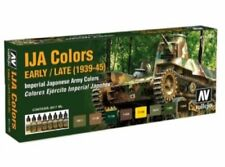 VALLEJO IJA Camouflage Early/Late 1939-45 Model Air 8 Colors 71160 FREE SHIPPING