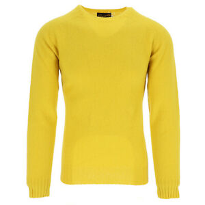 Glenugie Sweater Men's Yellow (Previously