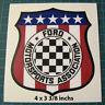 Vintage Ford Motorsports Association Vinyl Decal Sticker - SCCA Racing
