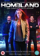HOMELAND SEASON 6 DVD BOX SET NEW SERIES SIX SEALED