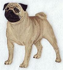 Embroidered Iron or Sew on  Applique, Badge, Patch Pug Dog