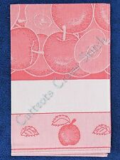 Kitchen Tea Towel To Cross Stitch Bon Apetit Red 45 x 68 cm 100% Cotton Jaquard