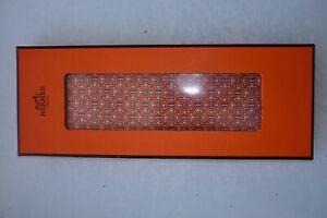 Hermes Krawatte Tie Orange
