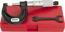 "Starrett 0 to 1"" Range, 0.0001"" Graduation, Mechanical Outside Micrometer Rat..."
