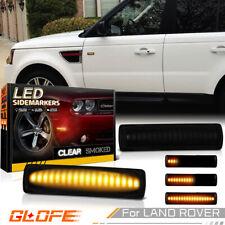 For Range Rover Sport L320 LR2 LR3 LR4 LED Side Door Marker Signal Light Dynamic