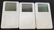 New ListingBundle of 3 Untested Apple iPod Mp3 Players A1040 - As-Is - Lot