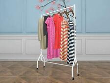 Vinsani 3ft Garment Heavy Duty Rail Clothes Shirts Hanging Display Stand - White
