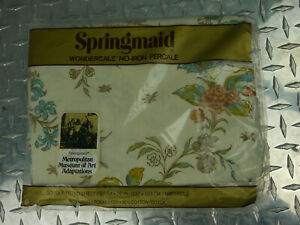 VTG. SPRINGMAID NEW Metropolitan Museum Of Art Collection Double Fitted Sheet