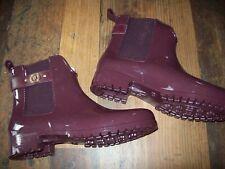 TOMMY HILFIGER Gummistiefel/Chelsea Boots/Rain Boots Gr. 40 OXLEY 13R rot NEU