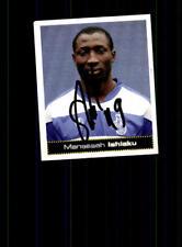 Manasseh ishiaku MSV Duisburg PANINI sammelbild 2007-08 original sign + a 170964