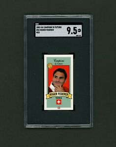 2003 Campioni Di Futuro Roger Federer Rookie SGC 9.5 (Not PSA) 🎾Super Low Pop🎾