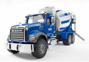 Bruder 02814 - MACK Granite Cement Mixer - Scale 1:16 Made in Germany