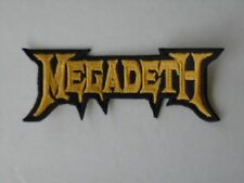 MEGADETH THRASH METAL EMBROIDERED PATCH