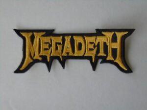 MEGADETH THRASH METAL EMBROIDERED PATCH